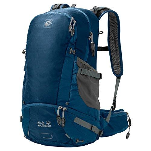 Jack Wolfskin Moab Jam 34 Hiking Hydration Packs, Poseidon Blue, One Size by Jack Wolfskin