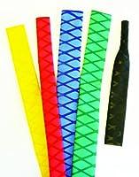 25 mm rutschfeste Blau 1,6 meter Schrumpfschlauch strukturierte pack