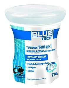Blue Tech bl501910pequeño difusor flotante para piscina 10–30M3
