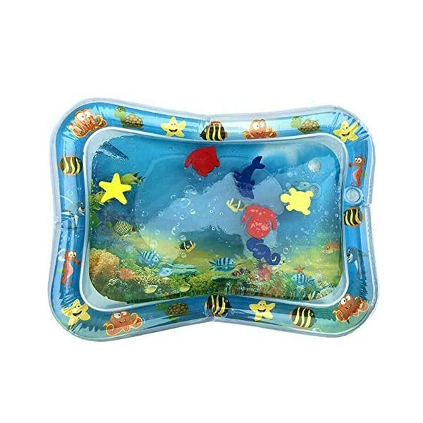 Dastrues Water Filled Baby Patted Pad Gonflable Water Cushion Playmat for Kids 1