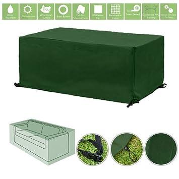 Verde resistente al agua muebles al aire libre cubierta pantalla ...