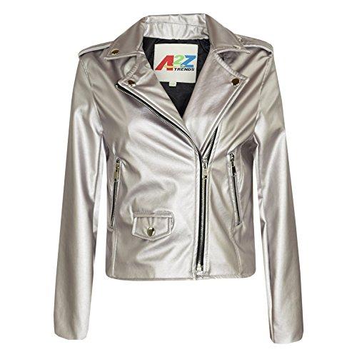 Gold Leather Jacket - 8