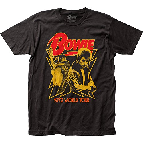 David Bowie - 1972 World Tour (slim fit) T-Shirt Size M