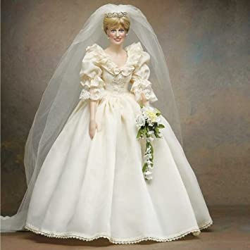 The Franklin Mint Princess Diana Vinyl Wedding Doll By Franklin Mint ...