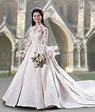 Kate Middleton Royal Wedding Vinyl Portrait Doll