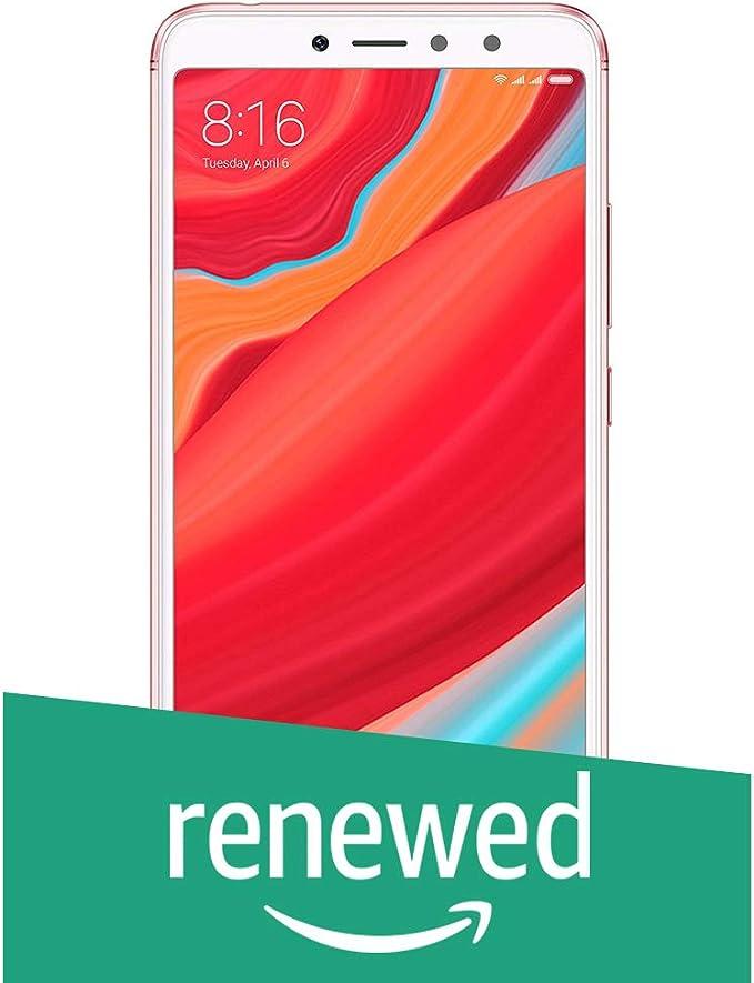 Renewed  Redmi Y2  Rose Gold, 3  GB RAM, 32  GB Storage  Smartphones