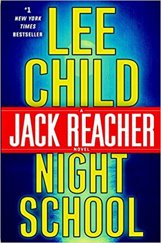 Image result for night school by lee child