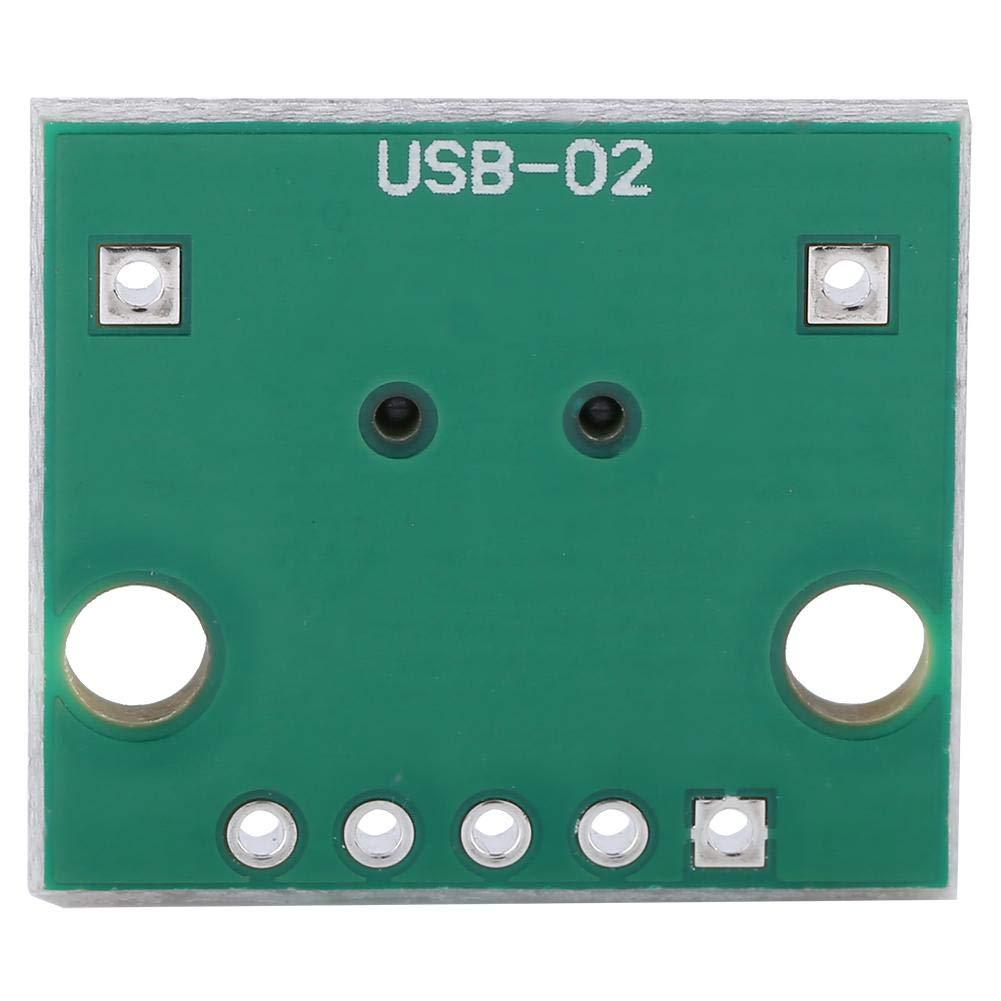 10Pcs Mini USB zu DIP Adapter Board 5P f/ür 2.54mm PCB Board DIY USB Netzteil USB zu DIP Adapter Board