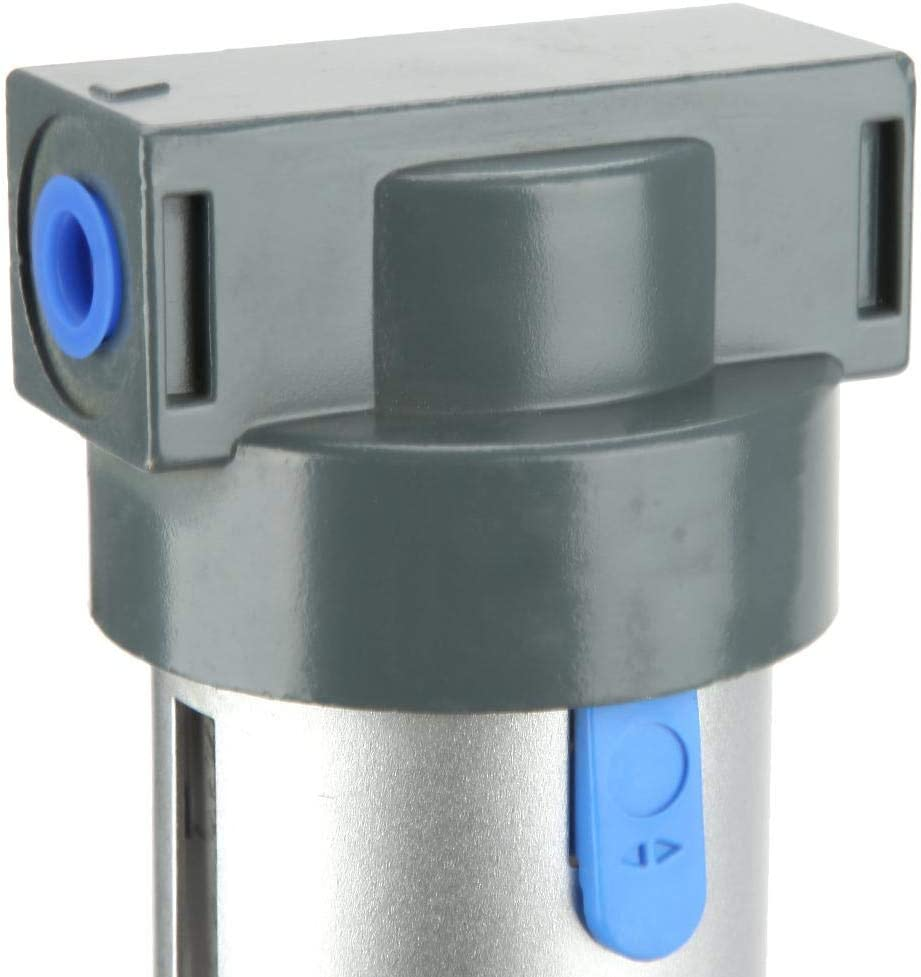 No Gauge 5 Micron 1//2 NPT Polycarbonate Bowl with Bowl Guard 7.25-123 psi Set Pressure Range SMC AW40-N04-Z Filter//Regulator Relieving Type Manual Drain 106 scfm