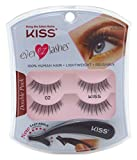 Kiss Ever Ez 02 Lashes Double Pack (6 Pack)
