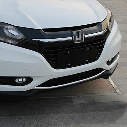 Vesul Chrome Front Rear Lower Bumper Grille Cover Molding Trim For Honda HR-V HRV Vezel 2014-2016