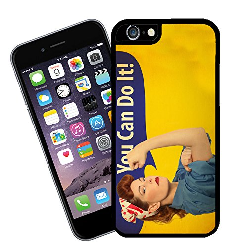 You Can Do It, womens rights phone case - This cover will fit Apple model iPhone 4 and 4s - By Eclipse Gift Ideas