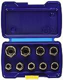 Irwin Industrial Tools 54019 Metric Bolt Extractor Set, 9-Piece