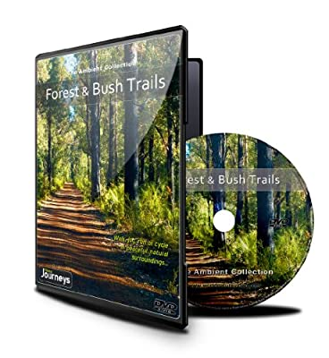 Fitness Journeys - Forest and Bush Trails, for indoor walking, treadmill and cycling workouts