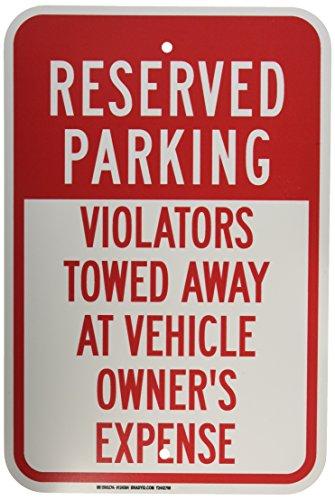 (Brady 124384 Traffic Control Sign, Legend