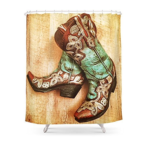 Society6 Cowboy Boots Shower Curtain 71