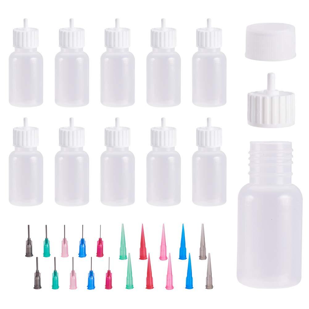 10 Botellas filigrana con aplicador de precision de 30ml