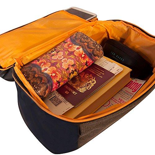Carry Perfetto On Grigio Cabin Di Yellow Bag Manhattan Elegante Second Ryanair manhattan Stowaway Per 20x35x20cm Indennità qfItwxF0