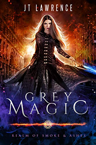 - Grey Magic: Hot skin, blue lips. Meet Raven Kane, your new favorite witch.