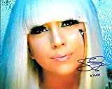 Lady GAGA Signed Autographed 8 X 10 Reprint Photo - Mint Condition