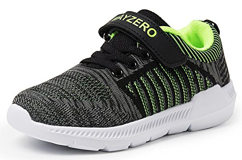 Vivay Kids Lightweight Sneakers Boys Girls Easy Walk Velcro Running Tennis Shoes