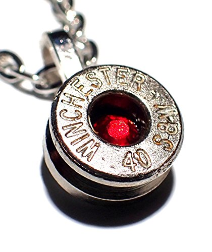 40 cal bullet necklace - 1
