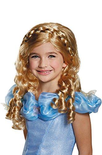 Disguise Cinderella Movie Child Wig Costume - Kids Dress Up Wigs
