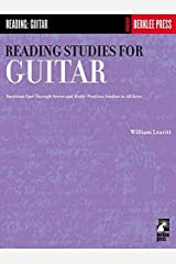 Reading Studies for Guitar: Positions One Through Seven and Multi-Position Studies in All Keys Paperback