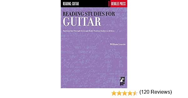 Reading Studies for Guitar: Positions One Through Seven and Multi ...