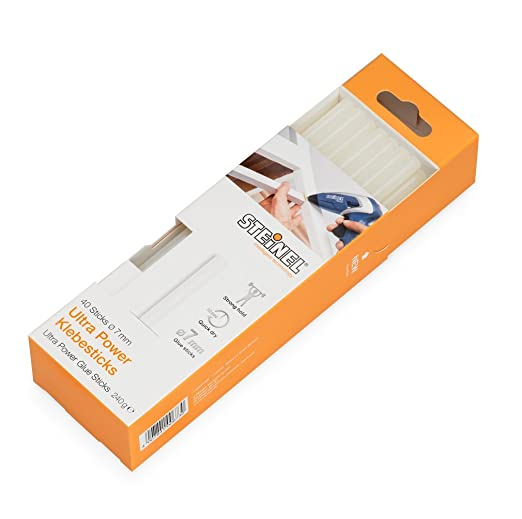 65 opinioni per Steinel Stick di colla ULTRA Power con diametro di 7 mm, cartucce di colla a