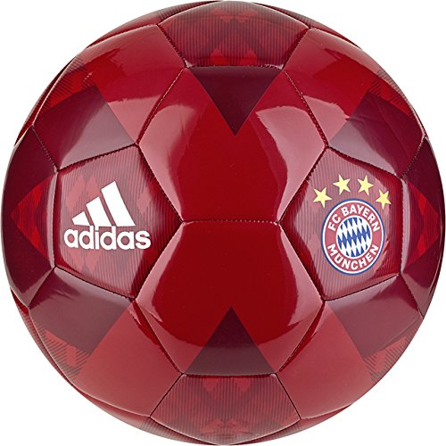 - adidas German Bundesliga Bayern Munich FC Soccer Ball, Red, 5