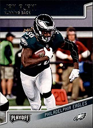 2018 Playoff Football  159 Jay Ajayi Philadelphia Eagles Official NFL  Trading Card made by Panini 13d56edf6