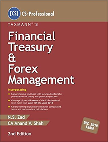 Taxmann financial treasury and forex management