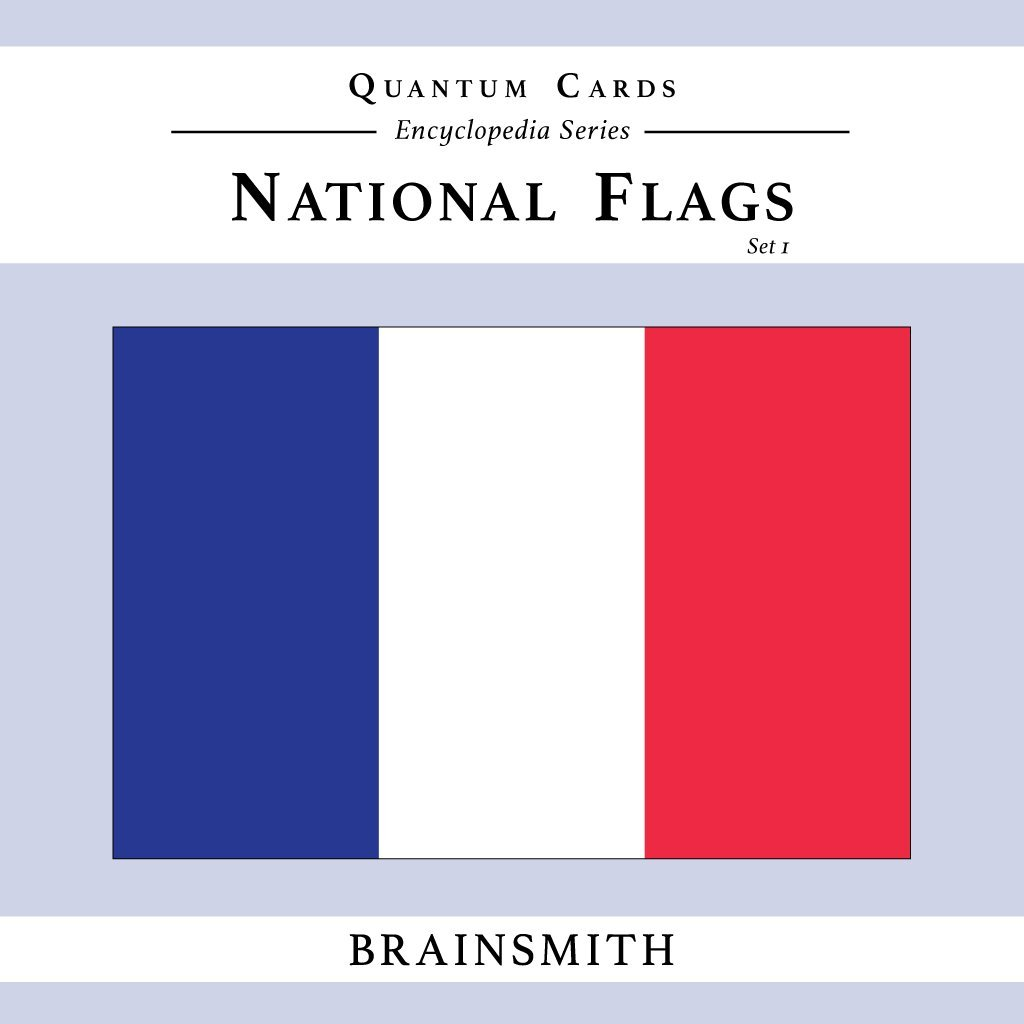 Brainsmith Quantum Cards National Flags Set product image