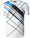 Sportides Mens Sports Breathable Quick Dry Short Sleeve TShirts T-Shirts Tees Tops Running LBM901