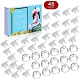 Baby Proofing(46-Pack), 16 Clear Corner Protectors 30 Outlet Plugs Covers, Suitable for Sharp Corners and Sockets. |Corner Protectors |Outlet Covers| Review