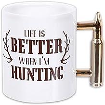 Dennis East International Life Is Better When I'm Hunting Coffee Mug