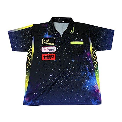 ダーツ シャツ COSMO DARTS レプリカダーツシャツ Galaxy タイプ サイズ:M