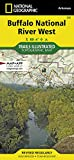 Buffalo National River West (National Geographic Trails Illustrated Map)