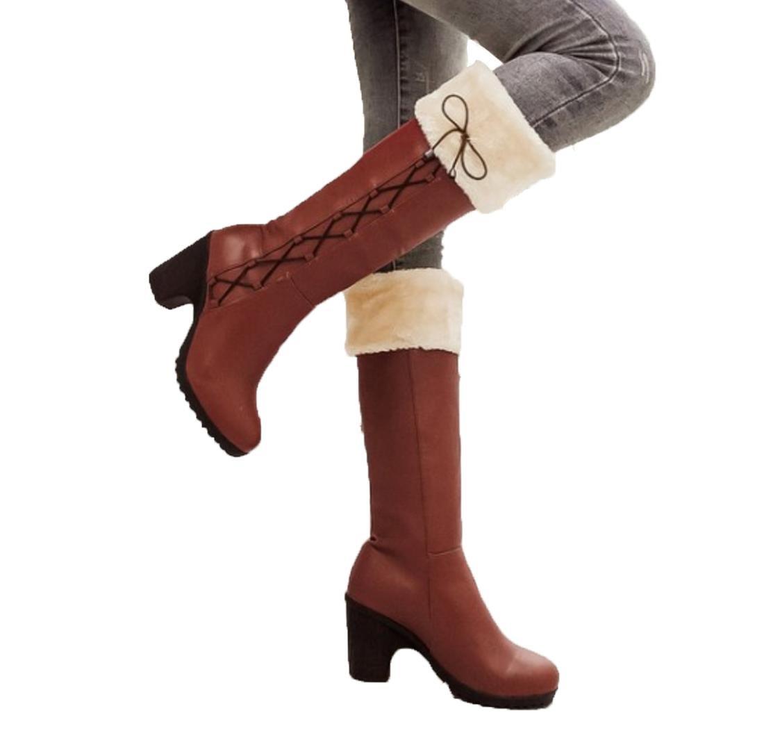 XDGG High-Heels Stiefel Single Schnee Lässige Aprikose Frauen Stiefel Aprikose Lässige Schwarz Braun 34 35 36 37 38 39 Winter Herbst cdaf87
