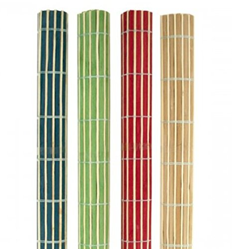 SKB Family Roll-Up Bamboo Placemats Set everyday use gatherings colorful by SKB family