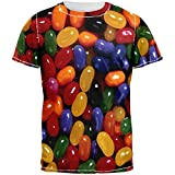 jelly bean tshirt - Jelly Beans All Over Adult T-Shirt - Large