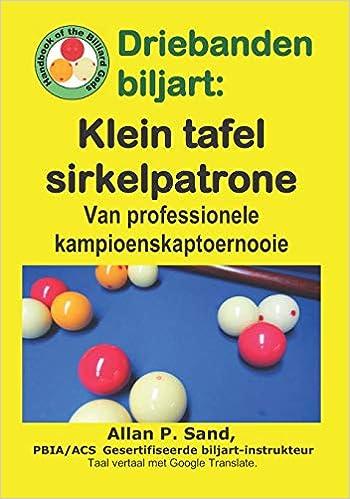 Driebanden Biljart Klein Tafel Sirkelpatrone Van Professionele