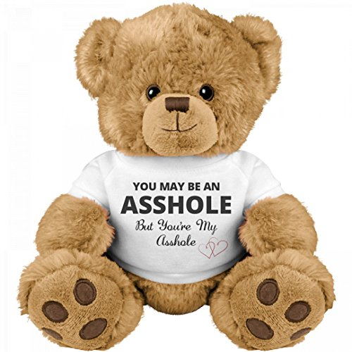 Funny Teddy Bear Couple Gift: Medium Teddy Bear Stuffed - Gifts Day Valentine's