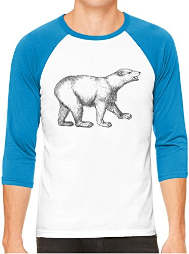 Details about  /Boy/'s Party Animal T-shirt Blue Polar Bear