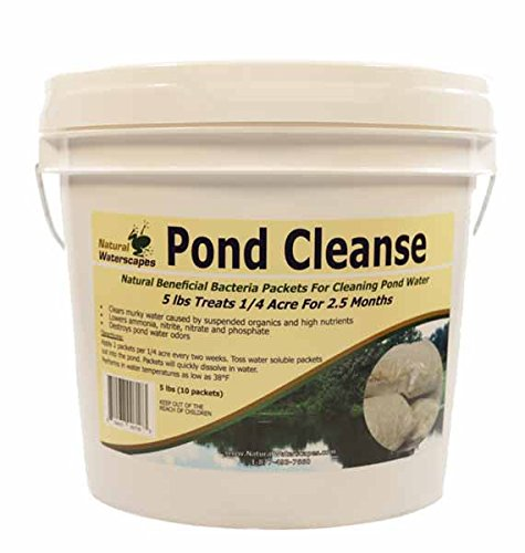 Natural Waterscapes Pond Cleanse Bacteria Packets 5 lb (Pond Scum Algae)