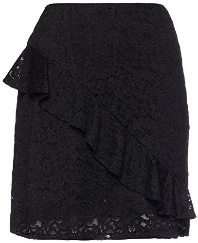 Noir en Dentelles Jupe Femme FIND Black xYZ84Uq