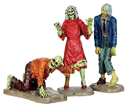 Lemax Spooky Town Collection Walking Zombies, Set of 3 #42219 for $<!--$9.99-->