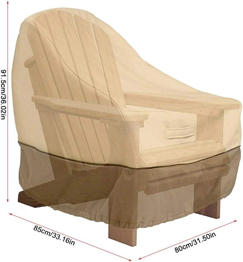 1# Wifehelper Housse de Chaise de Patio /étanche /à la poussi/ère de Meubles Chaise Housse de canap/é Protection Jardin terrasse ext/érieure