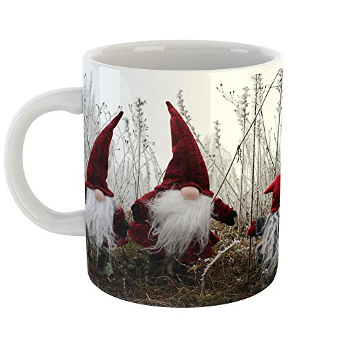 Westlake Art - Gnome Elf - 11oz Coffee Cup Mug - Modern Picture Photography Artwork Home Office Birthday Gift - 11 Ounce (443A-03062)